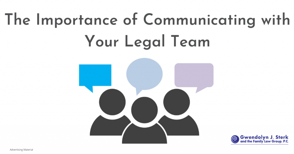 Communicating with your legal team