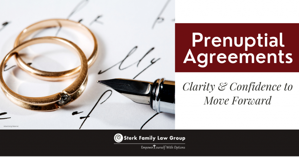prenuptial agreements, rings and pen contract